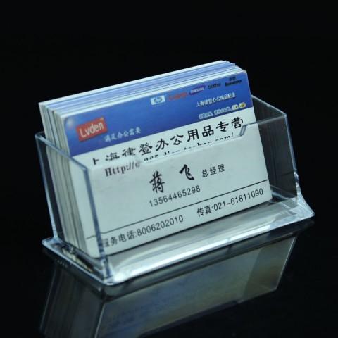 Kệ mica card visit 03