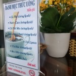 Nhận Làm Khung Thực Đơn Menu Mica Giá Rẻ Tại TPHCM