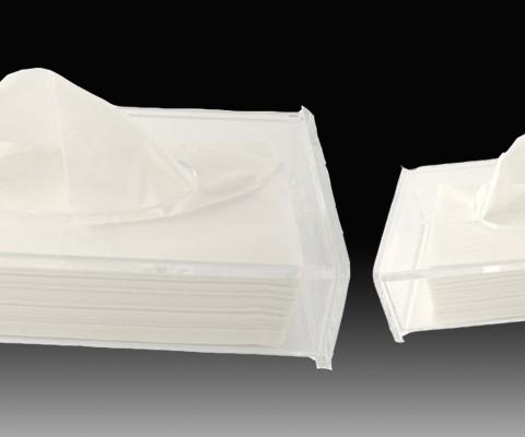 Hộp khăn giấy mica 2