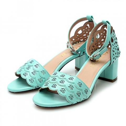 Cắt quai giày cao gót 01