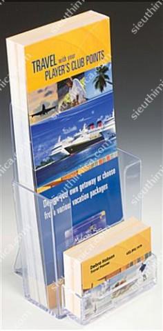Kệ mica brochure 24