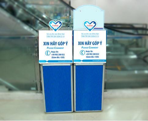 Địa chỉ phân phối thùng phiếu mica trong suốt Chuyên nghiệp Ở Việt Nam
