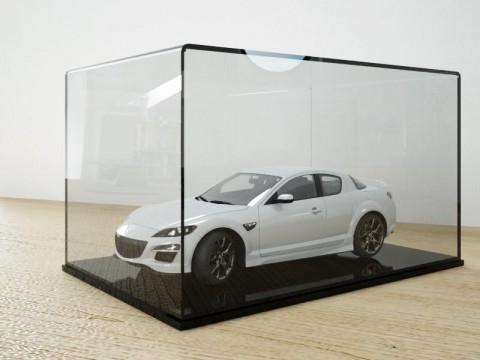 Hộp mica đựng mô hình ôtô xe hơi
